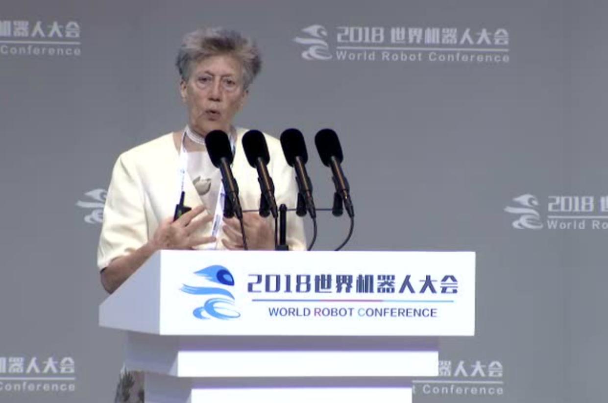 WRC2019-World Robot Conference 2019_Ms Rezia Molfino